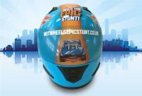 Promotional wrap for Hot Wheels' Build the Epic Stunt campaign