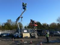 We provide accredited IPAF and PASMA  Working at Height Training