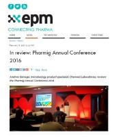 In review: Pharmig Annual Conference 2016