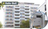 Hollo-Bolt was Used to Secure Balcony Extensions
