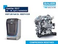 BAUER at ComVac / Hannover Messe 2017