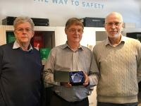 David Boxall is the first Recipient of the Warren-Barnett Technical Innovation Award