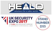 Heald to exhibit at UK Security Expo 2017!