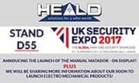 We are exhibiting at UK Security Expo!