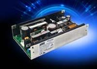 Configurable Class I and II medical 500W power supplies have low airflow requirement and meet curve B EMI