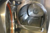 Custom stainless steel autoclave for contact lens manufacturing