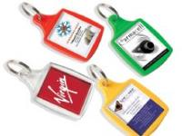 Fully Printed and Assembled Keyrings Available