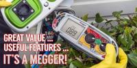 Great Value ... Useful Features ... It's a Megger!