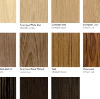 NEW! Real Wood Veneers by Bushboard Washrooms