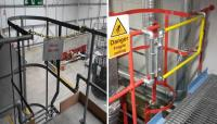Safety Gates or Chains for Safe Access