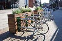 Another Cycle Parklet for London.