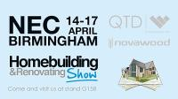 We're exhibiting at the Homebuilding & Renovating show 2016!