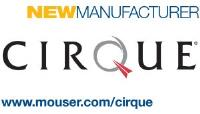 Mouser Electronics Announces Global Distribution Agreement with Capacitive Touch Leader Cirque Corporation