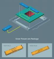 Vicor's Power-on-Package System Provides up to 1,000A Peak Current Enables Higher XPU Performance