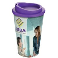 Purple Lid Thermal Cup
