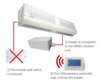 The RXREC RX Receiver Unit For Wireless Control Of Certain Consort Claudgen Fan Heaters And Air Curtains