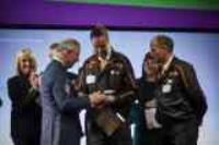 HRH Prince of Wales honours Mazak with Industrial Cadets Top Employer award