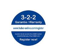 Huber Extended Warranty 3-2-2 For Peace of Mind