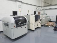 Avalanche Electronics Solutions install reconditioned SAMSUNG CP45FV NEO Pick and Place Machine