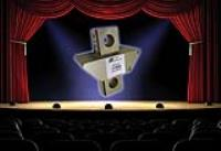 DRAMA AS HELICOPTER SENSOR FLIES INTO THEATRE ROLE