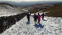 Stunning Snow Day For School On Adventure Week In Wales