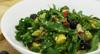 Chard and Rocket Quinoa Salad