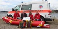MAHA supports the Lifeguard Service Rottachtal with the Family Rauch Foundation