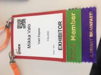 Custom conference ribbons and lanyards