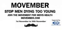 Help CES Hire to Stop Men Dying Too Young this 'Movember'