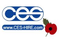 CES Hire Support the Royal British Legion Poppy Appeal 2017