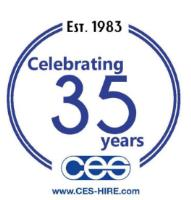 35th Anniversary Celebrations for CES Hire