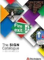 New 2018 Stocksigns Catalogue