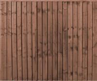 New Professional Closeboard Fence Panel