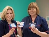 New Pagers Give Patients the Freedom of the Hospital at RJAH