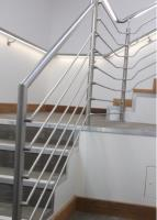 Student accommodation in Cambridge fitted with new illuminated handrails