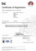 George Roberts successfully transitions to the new ISO 9001 standard
