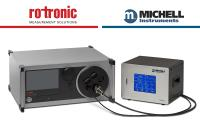 Combined humidity calibration ranges from Michell and Rotronic at IMEKO 2018