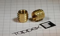 Tappex Self-Tapping Thread Inserts for Solid Core Laminate Materials.