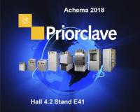 Examine Priorclave latest autoclave functionality at ACHEMA