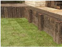 STUNNING EXAMPLES OF RAILWAY SLEEPER LANDSCAPING!