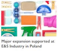 Major expansion supported at E&S Industry in Poland