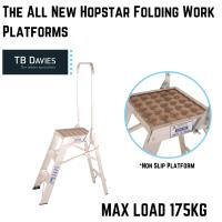 The All New Hopstar Folding Work Platforms
