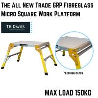 The All New Trade GRP Fibreglass Micro Square Work Platform
