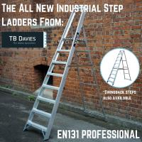The All New Industrial Step Ladders