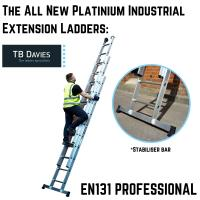 The All New Platinium Industrial Extension Ladders