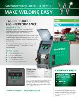 Make Welding Easy - Migatronic Omega offerMake Welding Easy - Migatronic Omega offer