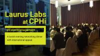 Laurus Labs – evening event and custom exhibition stand