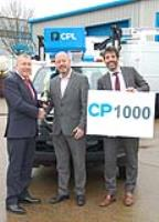 CPL manufactures and delivers its 1000th vehicle conversion to Access Hire Nationwide.