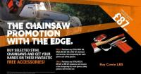 Chainsaw promotion
