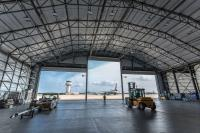 HANGAR DESIGN: Flexible solutions support easy and rapid construction